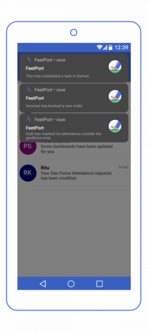 Real-time-updates-feetport